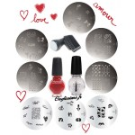 Lot St Valentin Onglissimo