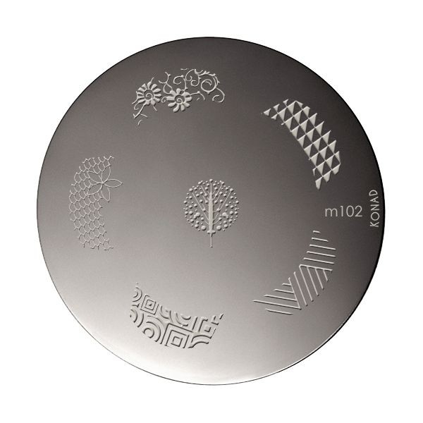 Stamping Konad plaque M102