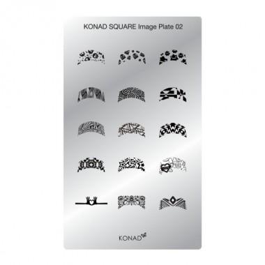 Plaque Konad rectangulaire 2