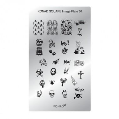 Plaque Konad rectangulaire 4