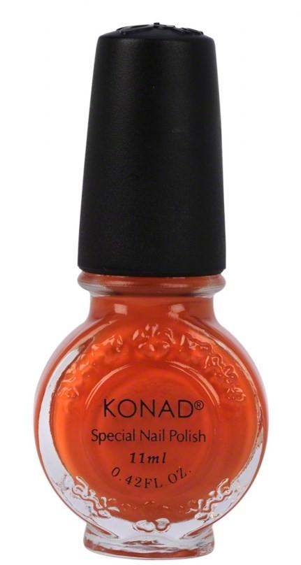 Vernis spécial konad orange foncé 11 ml