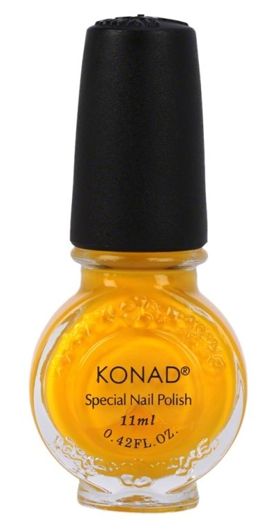 Vernis spécial Konad jaune canari 11 ml