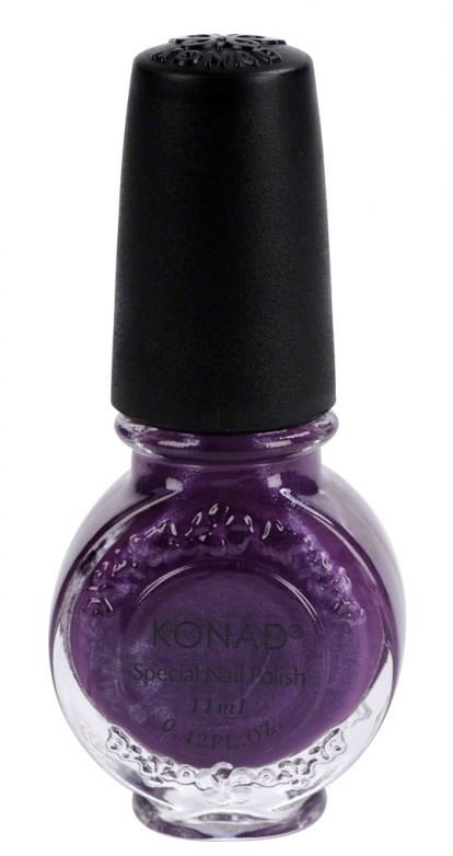 Vernis spécial Konad violet pearl 11 ml