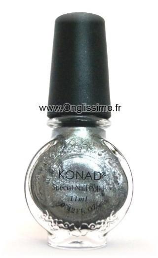 Stamping vernis Konad Powdery Silver
