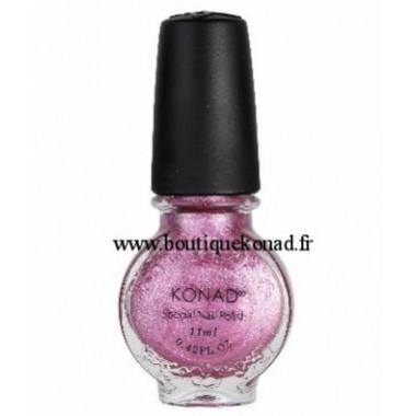 Konad Vernis spécial Rose vif Irisé Vivid 11 ml