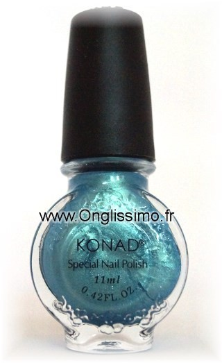 Konad vernis stamping Secret Blue