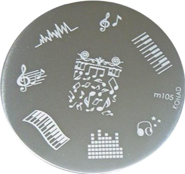 Stamping Konad Plaque M105