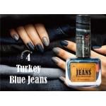 Vernis à ongles Effet Jeans Turkey Blue