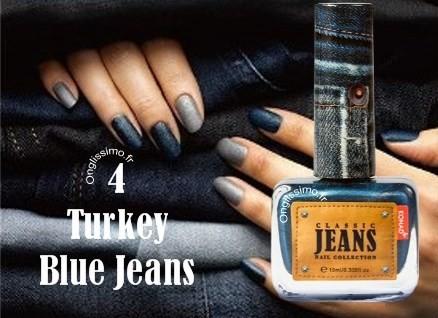 Vernis Effet Jeans Turkey Blue Konad