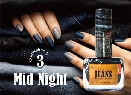 Vernis à ongles Effet Jeans Mid Night