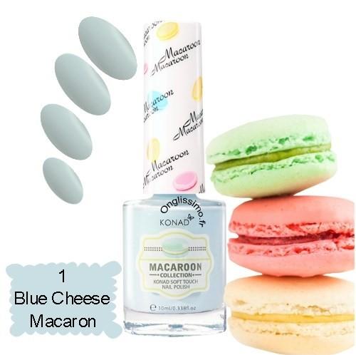 Vernis à ongles Macaron Blue 1