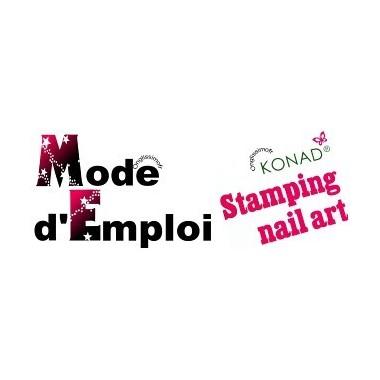 Mode d'emploi KONAD Stamping Nail Art