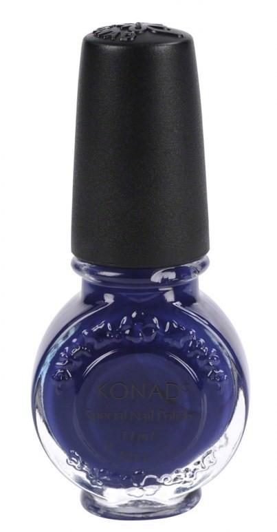 Vernis stamping Konad royale purple