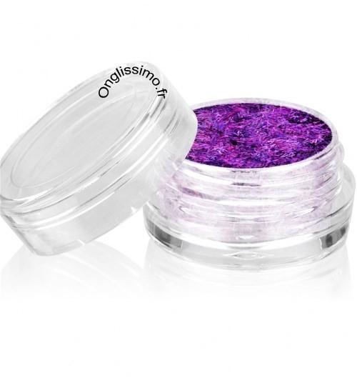 Filaments violet effet 3D Nail art pour ongles