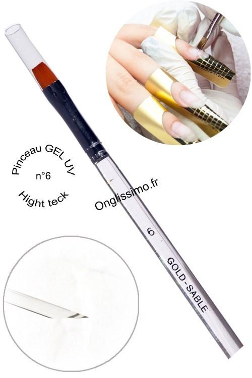 Pinceau gel uv plat n°6 nail art one stroke
