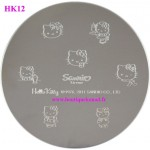 Stamping Hello Kitty n°12 Robe