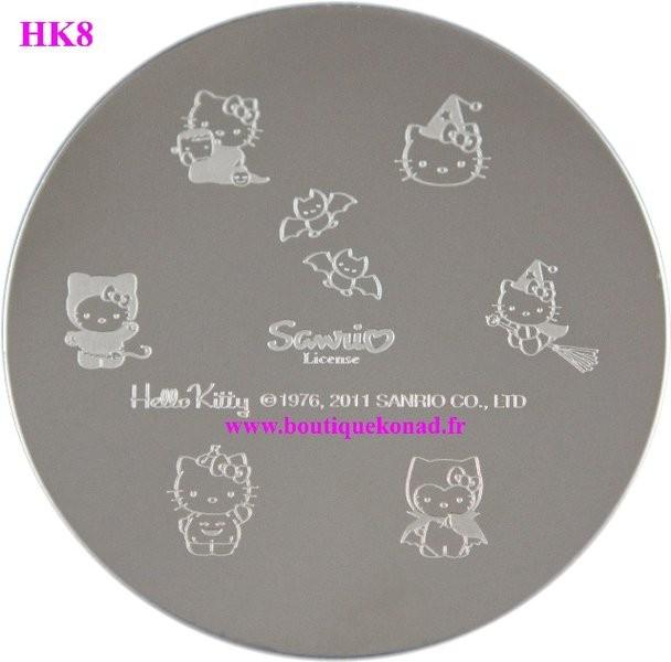StampingHello Kitty Nail Art n°8 Halloween