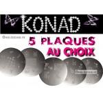 Stamping Konad Lot de 5 plaques au choix AJOUTER