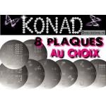 Stamping Lot de 8 plaques Konad au choix AJOUTER