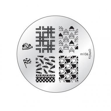 Konad Plaque stamping M106