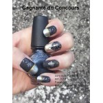 Fil argent holographique pour ongle striping tape