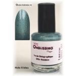 Vernis ongles Holographique Rainbow Bleu