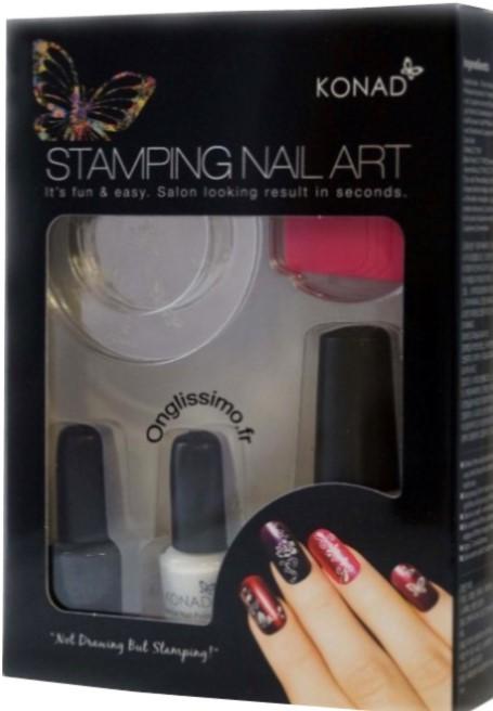 Stamping Konad l'original Kit Silver m36