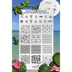 stamping Plaque Konad SQ24