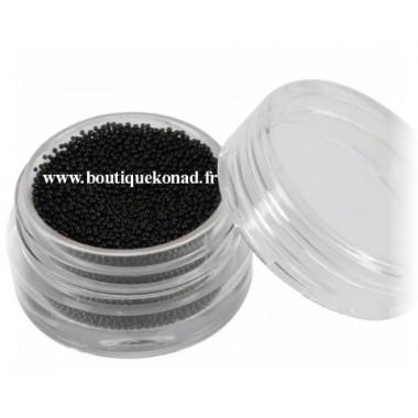 Pot Caviar noir 3D pour ongle