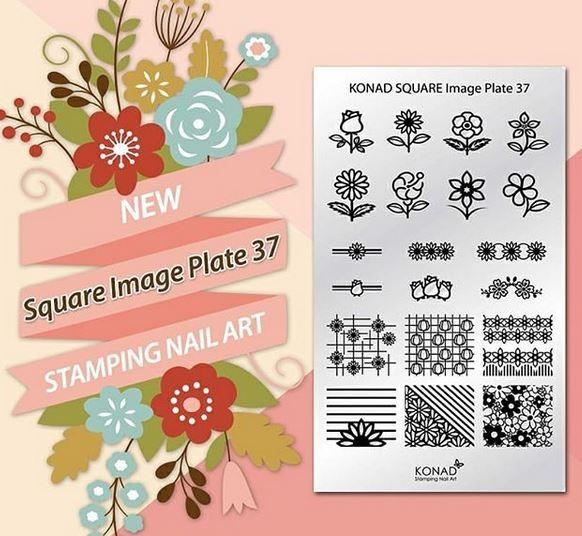 Stamping Plaque Konad SQ37