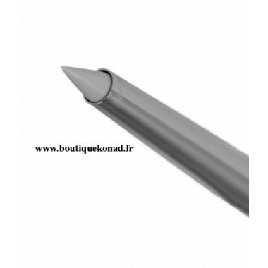 Pinceau nail art en silicone forme cône pointu