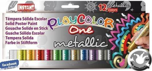 Peinture Playcolor Metallic One X12