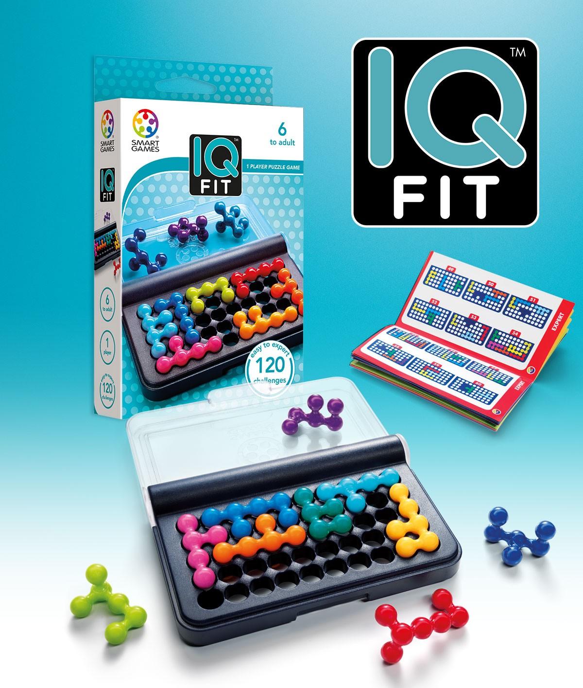 IQ FIT jeu de logique de 6 ans à 99 ans