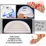 Lampe CCFL combinant UV+LED 54 W