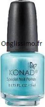 stamping Konad Vernis spécial blue hepburn 5ml