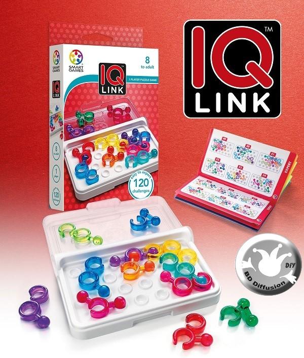 IQ LINK jeu de logique de 6 ans à 99 ans