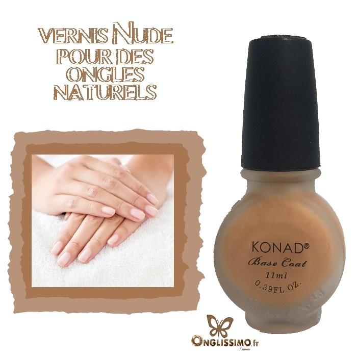 Vernis à ongles de base Nude 11ml KONAD