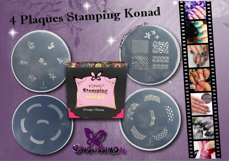 Plaques de Stamping KONAD m19 m57 m56 m75