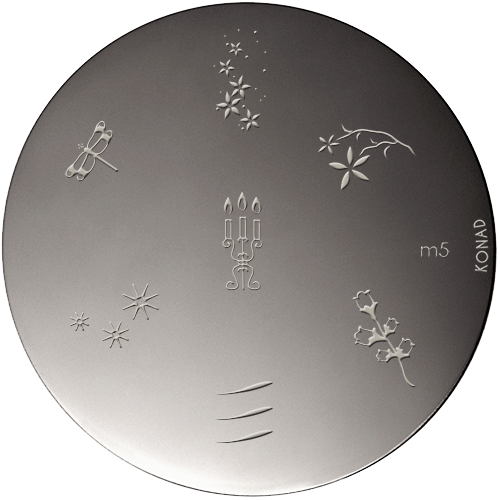 Plaque stamping Konad M5