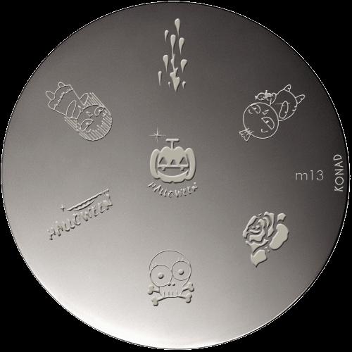 Plaque stamping Konad M13