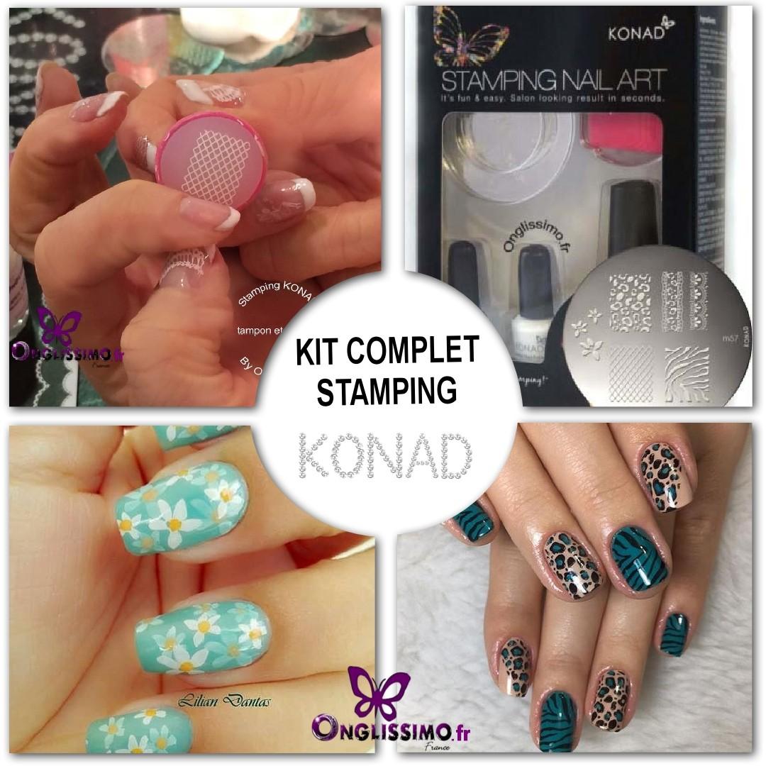 Stamping Konad Kit Silver m57