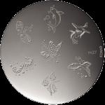 Plaque stamping Konad M27