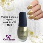 Vernis à ongles Konad N°36 ice gold 10 ml