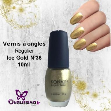 Vernis à ongles Konad ice gold 10 ml