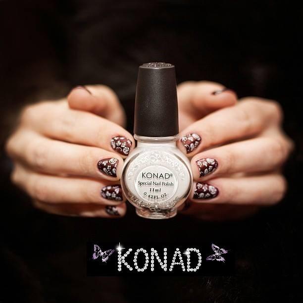 Stamping Vernis Konad blanc 11 ml