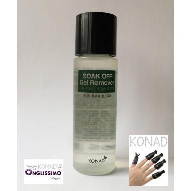 Dissolvant remover KONAD pour gel & semi permanent