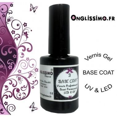 Vernis Base Coat permanent UV ou LED
