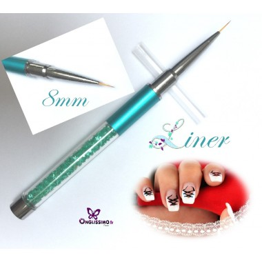 Pinceau Liner extra fin 8mm One stroke nail art