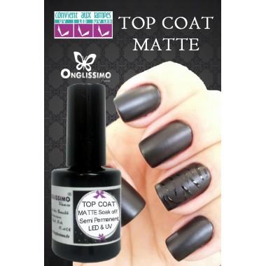 Top Coat MAT semi permanent UV & LED Onglissimo
