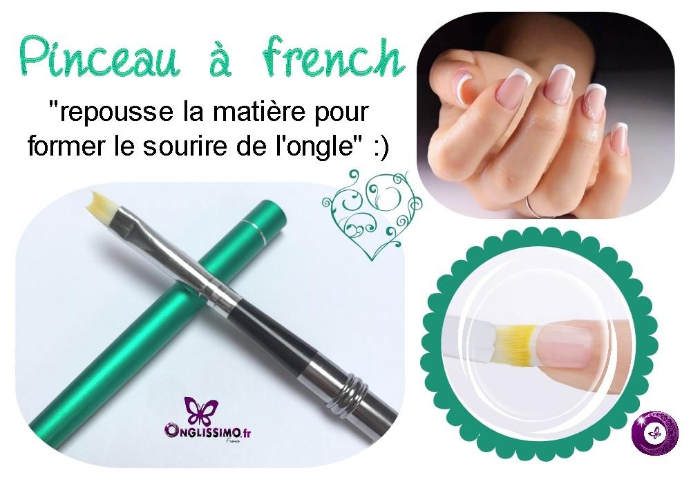 Pinceau pour french manucure et nail art